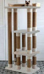"""Комплекс для кошек """"Каприз""""(прямая нить, высокий ворс)"""