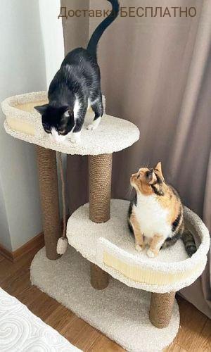 """Комплекс для кошек """"Люси"""" (ковролин)"""